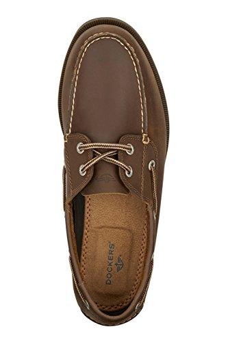 6298222c3c Dockers Men's Vargas Leather Handsewn Boat Shoe - Import It All