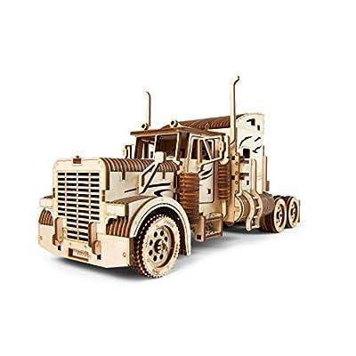 Ugears 70056 Camion Pesante Camion Fai Da Te Modello Unica Idea Regalo Vm 03 Camion Con Cabina Ecologico Compensato Non Adesivo Necessario Modello In Legno