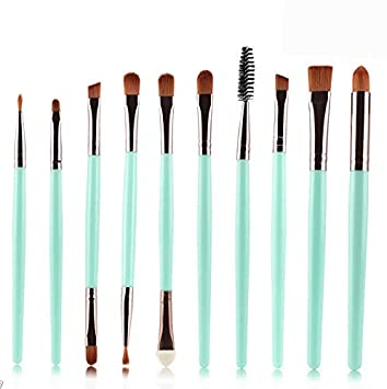 Amazon.com: Kaputar 10pcs Make up Brushes Set Kabuki Foundation ...