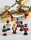 6 pc Traditional Nutcracker Christmas Crackers 680