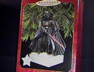- Hallmark Keepsake Magic Ornament - Star Wars Darth Vader 1997