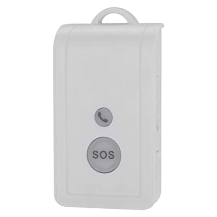 Cuidador Personal Inteligente Inalámbrico con Botón de llamada de Alarma, SIM Tarjeta Anciano ViejosMóvil Teléfono SOS Emergencia Llamada Alarma ...
