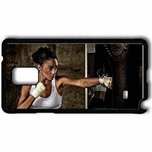 Personalized Samsung Note 4 Cell phone Case/Cover Skin 39287 Black