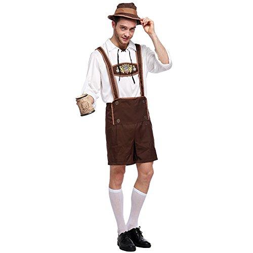 Oktoberfest Cosplay Uomo Birra Germany Halloween Di Costume Bavarese Vestito Liyizo Xq5gt