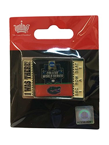 aminco Florida Gators 2017 NCAA Men's College World Series I was There Lapel Pin