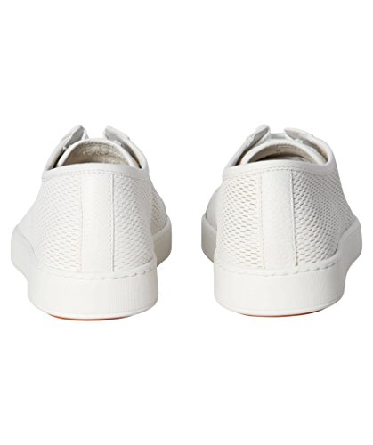 Santoni Herren Sneakers Weiß