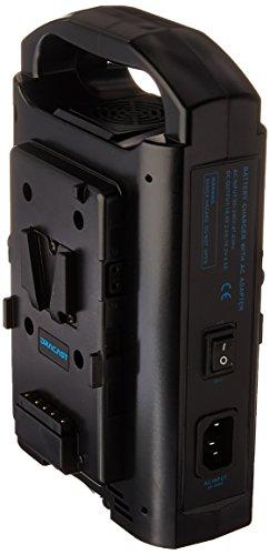 Dracast DR-CH2V V-Mount Dual Battery Charger, Black