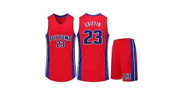 23 # Blake Griffin Detroit Pistons Conjunto De Camiseta De ...
