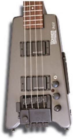 BAJO ELECTRICO - Hohner (B2A DB GMS) Steinberger (Gris Metalico ...