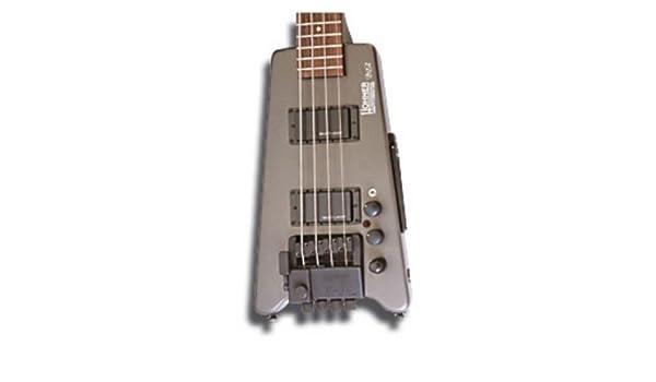 BAJO ELECTRICO - Hohner (B2A DB GMS) Steinberger (Gris Metalico): Amazon.es: Instrumentos musicales