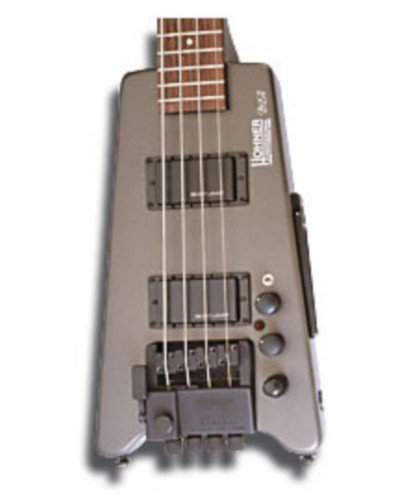 BAJO ELECTRICO - Hohner (B2A DB GMS) Steinberger (Gris Metalico)