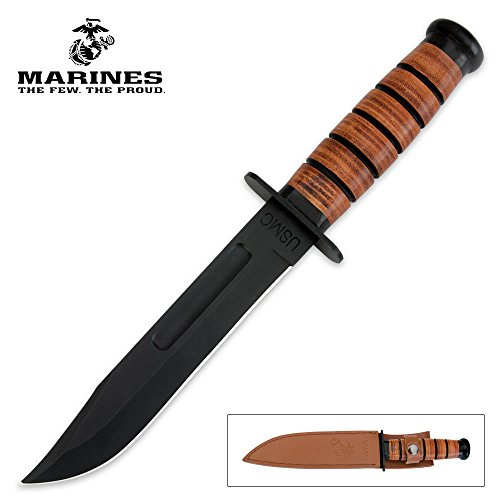 Marines Fighting Knife (USMC Combat Fighter Knife and Sheath)