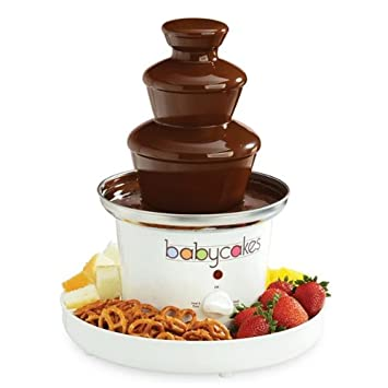 amazon com babycakes chocolate fountain home kitchen rh amazon com instruction manual for babycakes cake pop maker User Manual