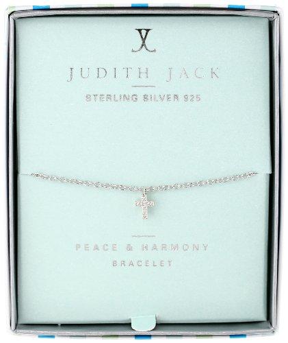 "Judith Jack ""Mini Motives"" Swarovski Marcasite Crystal Cross Bracelet"