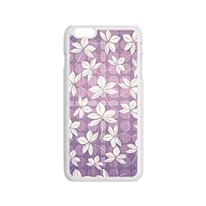 linJUN FENGPurple Maple leaf Hight Quality Plastic Case for Iphone 6