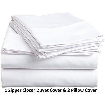 Rajlinen luxury 3pcs duvet cover set 800 for Luxury hotel collection 800 tc egyptian cotton duvet cover set