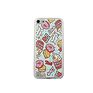 BearBiscuit Leather Vein Pattern PC Hard Case for iPod touch 5