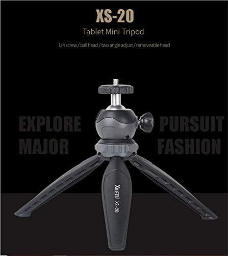 XILETU XS-20 360 Degree Panoramic Rotation Mini Tripod with Ball Head for Camera Phone Holder