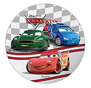 Edible Cake Decorations Cars : DISNEY PIXAR CARS CAKE TOPPER 21 CM EDIBLE WAFER / RICE IV ...