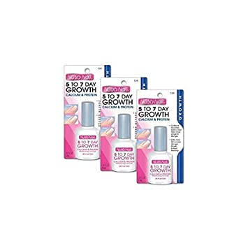 Amazon.com : Nutra Nail 5 To 7 Day Growth Calcium Formula (Pack of 3 ...