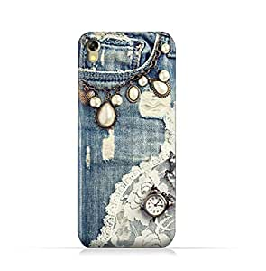 Infinix Hot 5 X559 TPU Silicone Protective Case with Modern Jeans Pattern