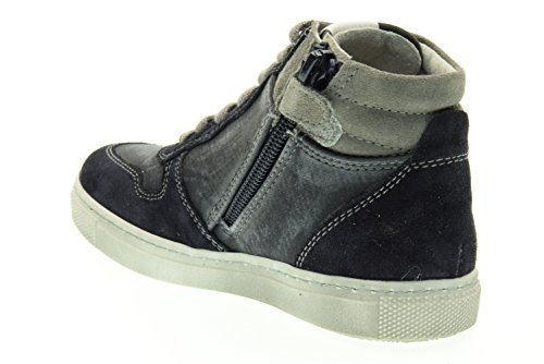 BLACK GARDENS jugendlich hohe Turnschuhe A633990M / 200 (27/30) Blu-bianco