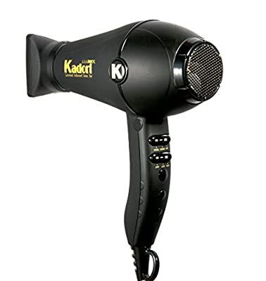 Kadori Professional Blow Dryer Salon Hair Dryer L.I.A 2500X Ceramic, With Ionic Technology