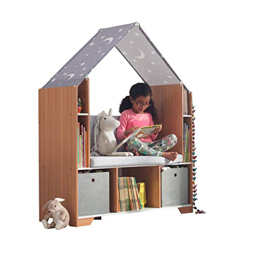 KidKraft Little Dreamers Reading Nook, Gray ()