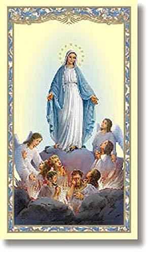 Purgatory Holy Card - 100/pk, Prayer Cards, Prayer on back: Novena Prayers for Souls in Purgatory