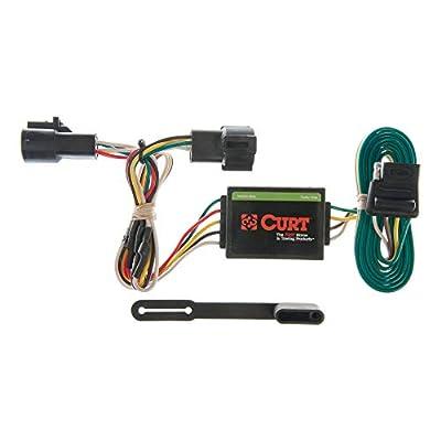 CURT 55325 Vehicle-Side Custom 4-Pin Trailer Wiring Harness for Select Ford Ranger, Mazda B2300, B3000, B4000: Automotive