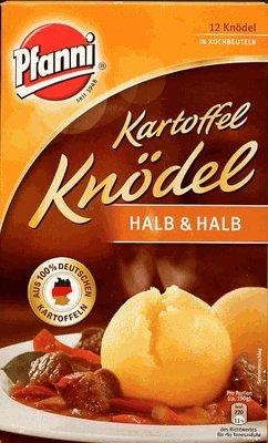 (Pfanni Kartoffel Knoedel Halb Halb Potato Balls Half Half 400g (2-pack))