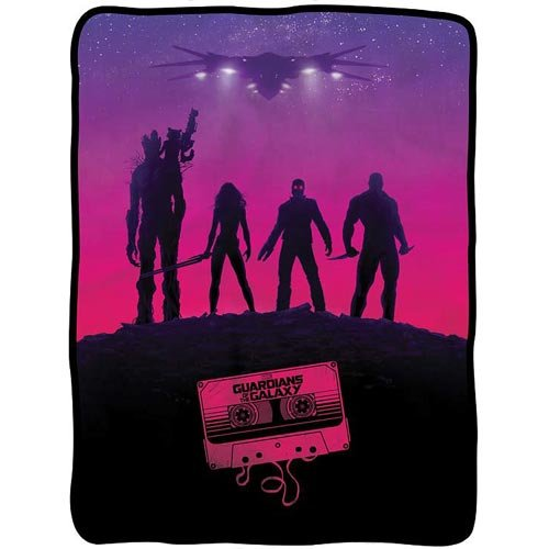 - Guardians of the Galaxy Awesome Mix Fleece Throw Blanket
