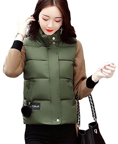 顔料開発するその間(ケイミ)KEIMI レディース 中綿 ダウン ベスト ジャケット アウター ショート丈 カジュアル 全8色