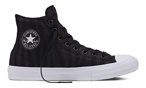 Converse Chuck Taylor All Star Ii - Zapatillas Unisex adulto Schwarz (Black/White/Gum)
