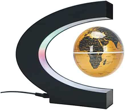 LED Spining Globe World Discovery Educational Gifts for Child Student 25cm