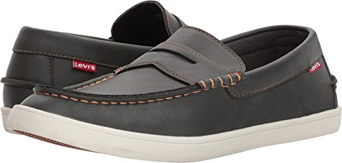 Levis Zapatos Hombres Mast Nappa Charcoal