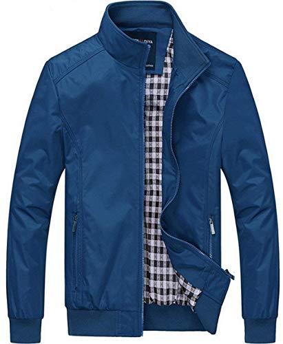 Winter Hellblau Force Air Lightweight Autumn Mens Comfortable Bomber Men's Jacket Large Fashion Parka Size Outwear Battercake Classic t0qxaf8w0H