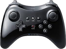cooleedtek Black Classic Wireless Juego driver Gamepad Joypad Mando a Distancia para Nintendo Wii U Pro