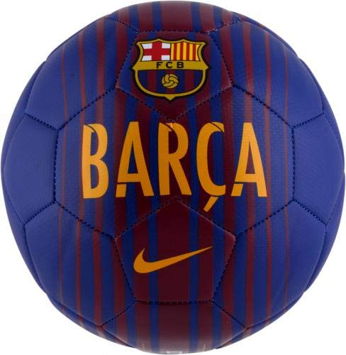 Lionel Messi Barcelona Autographed Soccer Ball ICONS Fanatics Authentic Certified Autographed Soccer Balls