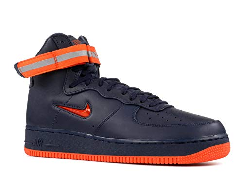 Nike AIR Force 1 HIGH Retro PRM QS Mens Fashion-Sneakers (9) ()