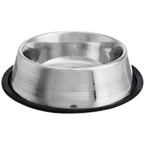 Choostix Dog Feeding Bowl Steel, Small (1 Piece)