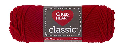 Red Heart Classic Yarn, Cherry Red