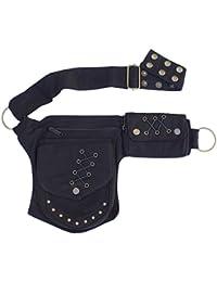 Renaissance Faire Festival Lace Fannypack Waistbag Cotton Utility Hip Belt