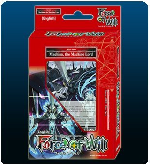 (Force Of Will Machina The Machine Lord (Flame) FOW Alice Cluster Twilight Wanderer Starter Deck - 51 Cards)