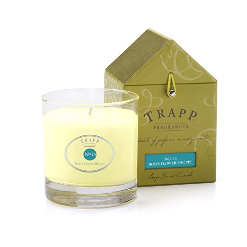 - Trapp Signature Home Collection No. 13 Bob's Flower Shoppe Poured Scented Candle, 7-Ounce
