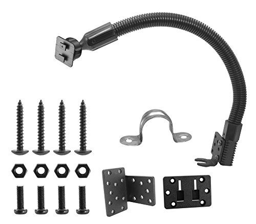 Arkon Replacement Upgrade or Additional Metal Car or Truck Seat Rail or Floor Mounting Pedestal Retail Black