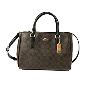 COACH Cross Grain Leather Surrey Carryall