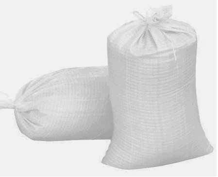 Sandbags 14 X 26 Woven Polypropylene Sand bags w/ Ties, With UV Protection. Qty of 20 Bags by Frog It