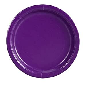 "Purple, 9"" Round-20 Count"