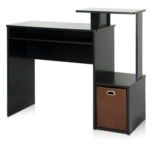 office computer table. Furinno 12095BK/BR Econ Multipurpose Home Office Computer Writing Desk With Bin, Black/Brown: Amazon.ca: \u0026 Kitchen Table